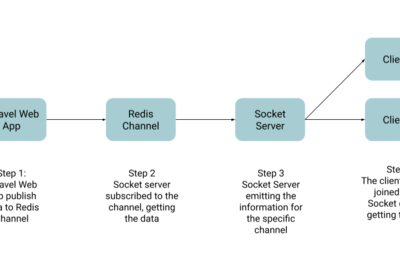How to send data from Client to Server with Laravel Echo
