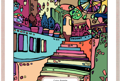Interactive Coloring Page