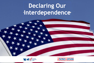 Declaring Our Interdependence - Women's Campaign Fund