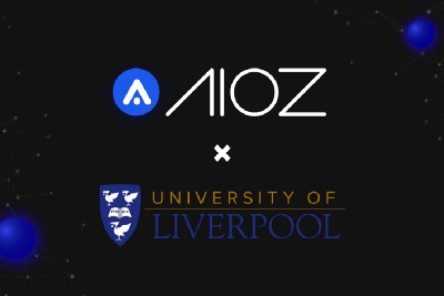 AIOZ collaborates with the University of Liverpool