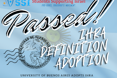 University of Buenos Aires Adopts IHRA Definition of Antisemitism