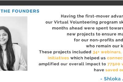 Message from the Founders—Apr'21