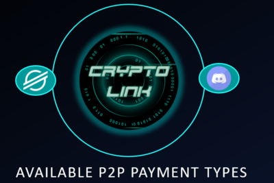 Discord P2P payments with Crypto Link