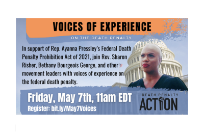 ADVISORY: Federal Death Penalty Panel to Celebrate Increased Momentum Toward Abolition
