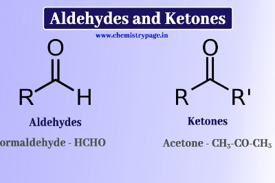 What is the difference between aldehydes and ketones?