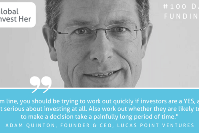 Day 5/100—Adam Quinton, Founder and CEO, Lucas Point Ventures