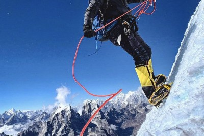 I fell in love with a Nepalese mountain guide who I haven't even met yet…