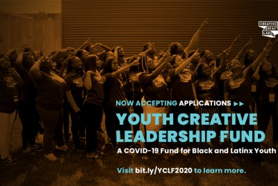 COVID-19 Youth Creative Leadership Fund: Fall/Winter 2020 Applications are Open!