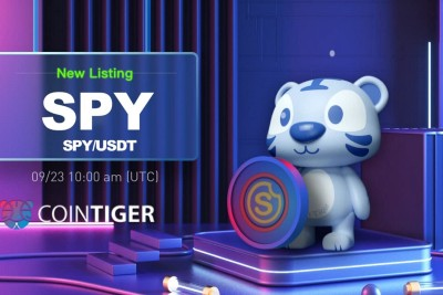 SPY Will be Available on CoinTiger on 23 September.