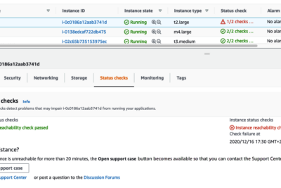 [AWS Troubleshoot] EC2 can't start and can't launch new instance with backup AMI or launch instance…