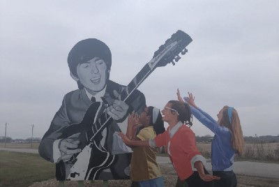 A Beatle Visited Small Town America