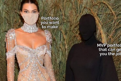 Why you just need an MVP of your portfolio?