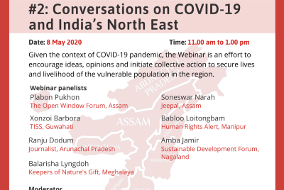 Conversations on COVID-19 and India's North-East