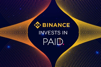Binance invests in PAID Network