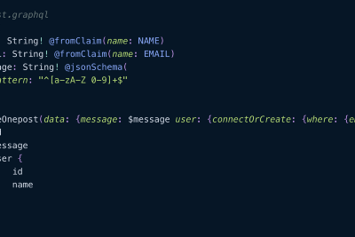 Build JSON APIs with JSON-Schema by writing GraphQL Operations against any Data Source.