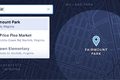 Introducing Map Search: Quickly Navigate to Any Location