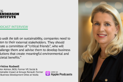 Sustainable Business Model Innovation Series: Lessons from Veolia and Renault
