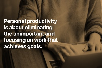 The Four Levels Of Personal Productivity.