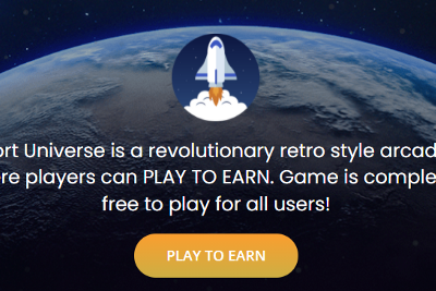 SpacePort Universe Play-To-Earn by Machine Learning