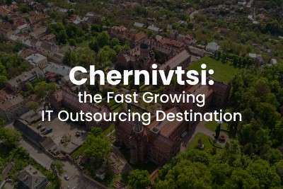 CHERNIVTSI, UKRAINE AS THE FAST GROWING IT OUTSOURCING DESTINATION IN THE WORLD: NUMBERS AND FACTS