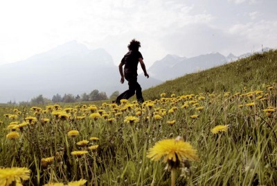 When find yourself running, go for a walk!