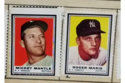Souvenirs Tell Stories—Baseball Stamp Albums