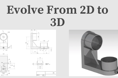 Go from 2D to 3D, Beginner CAD Design Tips