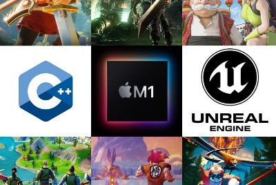 Setting up Unreal engine in M1 Mac for C++ game development