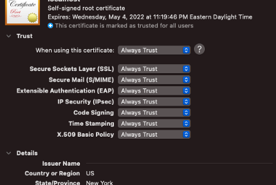 Install SSL CA-Signed Certificate for Go server on Ubuntu for Production environment