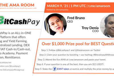 BitCashPay with Fred Bruno and Troy Denia