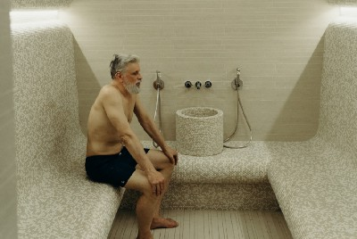 The First Post-Pandemic Sauna