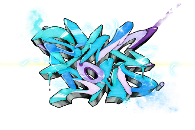 SYNC Network NFT Exposition in Decentraland with Graffiti Kings