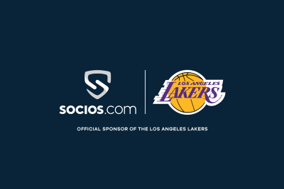 LOS ANGELES LAKERS ANNOUNCE OFFICIAL SPONSORSHIP WITH SOCIOS.COM