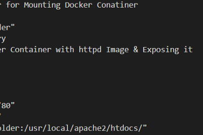 An ansible playbook to configure docker,start docker services and launching a webserver on the top…
