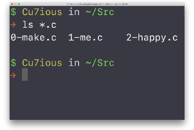 Magic for beginners, or what the Unix `ls *.c` command does.