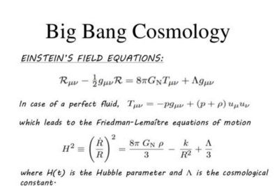 How to calculate exponential growth rates of our Universe using data science techniques and…