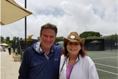 Meeting Jimmy Connors