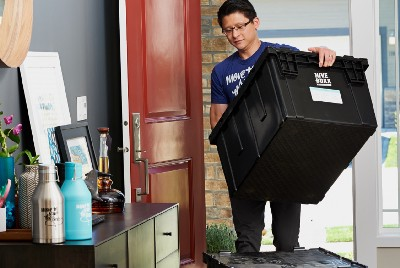Find Recyclable Plastic Moving Bins Near You!