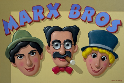 """The Marx Brothers in """"Monkey Business 2.Uh-Oh!"""""""
