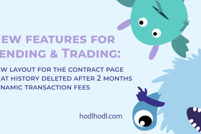 New features for Lending & Trading