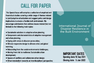 Call for Paper: Challenges of the (Anti) Adaptive Urbanization in Multiple Scales