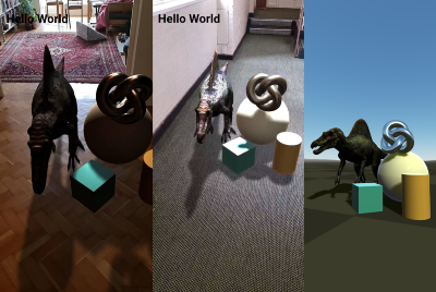 Use new Augmented Reality features with just a few lines of code with WebXR and AFrame!