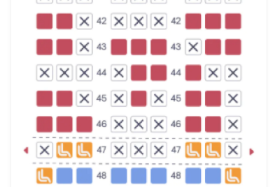 Re-layout of the ticket purchase screen