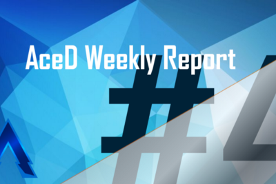 AceD Weekly Report #4—09/13/19