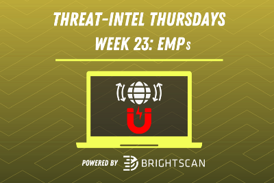 BrightScan #ThreatIntelThursday | Electromagnetic Pulses 🌍 🧲