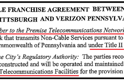 FCC: Kill Net Neutrality, Block Cities and States from Telecom, Privatize Publicly Funded Utility…