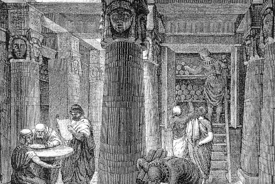 The Burning of the Library of Alexandria By The Numbers