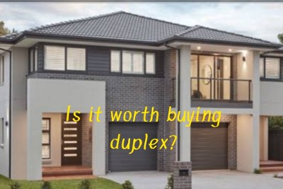 Is it worth buying duplex? Figure out the easy way to be clear