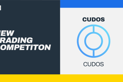 Trade CUDOS to Earn Your Share of 852,500 CUDOS (worth $25K USD at the time of posting)