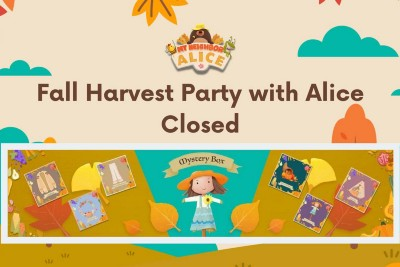 Fall Harvest Party with Alice NFT Sale Concluded
